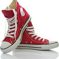 Кеды Converse All Star высокие красные