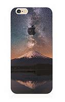 """Силиконовый чехол """"Гора"""" для Iphone 6 Plus (рисунок - печать)"""