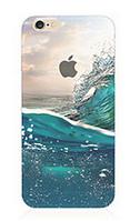 """Силиконовый чехол """"Море"""" для Iphone 6 Plus (рисунок - печать)"""