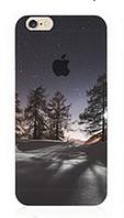 """Силиконовый чехол """"Зима"""" для Iphone 6 Plus (рисунок - печать)"""