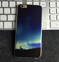 """Силиконовый чехол """"Заповедник"""" для Iphone 6 Plus (рисунок - печать)"""