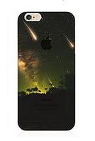 """Силиконовый чехол """"Звездопад"""" для Iphone 6 Plus (рисунок - печать)"""