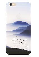 """Силиконовый чехол """"Птицы"""" для Iphone 6 Plus (рисунок - печать)"""