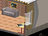 Утепление квартир пенопластом плотностью 25м толщиной 50 мм