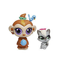 Hasbro Littlest Pet Shop Зверюшка и ее малыш: Mushroom Lee и Sneakers Stymie