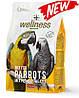 Комплексний корм для папуг жако,apa,амазон - Wellness pappagalli Padovan 2.5 кг.