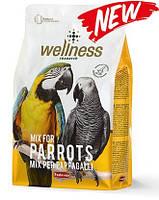 Комплексный корм для попугаев жако,apa,амазон - Wellness pappagalli