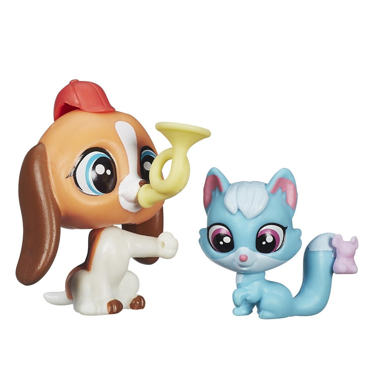 Littlest Pet Shop Зверюшка и ее малыш: Бигль и лисёнок