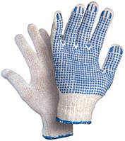 Перчатки с ПВХ точкой, большого размера