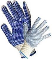 Перчатки с двусторонней ПВХ-точкой
