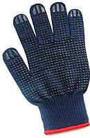 Перчатка из синтетической пряжи с ПВХ точкой