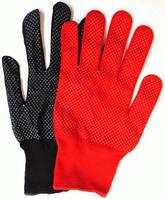 Трикотажная перчатка с мини-точкой для точных работ