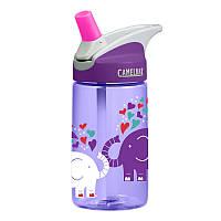 Детская бутылка для воды CamelBak eddy Kids 0.4L Elephant Love