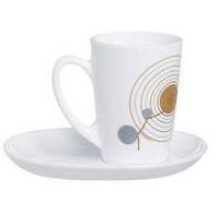 Чайный набор на 6 персон Sequins White