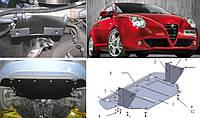Защита картера двигателя Alfa Romeo (Кольчуга - Полигон - Шериф), фото 1