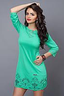 Платье женское модель №245-7, размер 46 мята