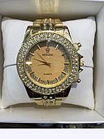 Часы наручные Rolex gold,женские наручные часы, мужские, фото 1