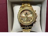 Часы наручные Rolex gold 5987,женские наручные часы, мужские, часы Ролекс, фото 1