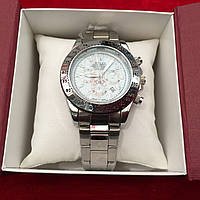Часы наручные ROLEX Daytona White,женские наручные часы, мужские, часы Ролекс, фото 1