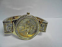 Часы наручные женские Gues(золото),часы наручные Гуес, женские наручные часы, мужские часы, фото 1