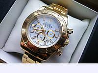 Мужские часы Rolex Daytona 6012, цвет циферблата золотистый,женские наручные часы, мужские, часы Ролекс
