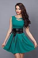 Платье  мод 385-9 размер 44,46,48 бирюза