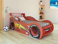 """Кровать машина """"Молния McQueen""""  красная"""