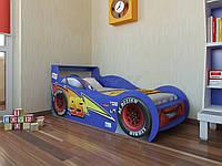 """Кровать машина """"Молния McQueen""""  синяя"""