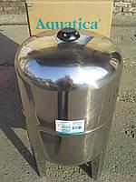 Гидроаккумулятор Aquatica 779113 (50 л), нержевающий бак, фото 1