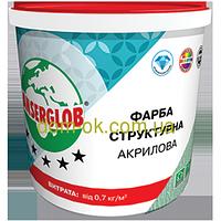 Ансерглоб Структурная краска акриловая * Ведро 7,5 кг.