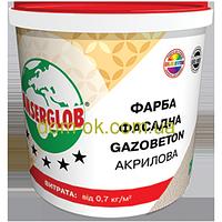 Ансерглоб Структурная краска акриловая Gazobeton * Ведро 14 кг.