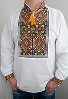 Вышиванка мужская с цветной вышивкой Козачок