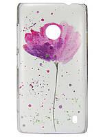 Чехол с рисунком для Nokia Lumia 520 1
