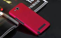 Чехол для Alcatel OneTouch Hero 8020 / 8020D ярко-розовый