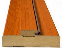 Коробка Новый Стиль деревянная ПВХ 100*22 N венге Deluxe (стоевая) new