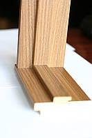 Коробка Новый Стиль деревянная ПВХ 100*22 N Венге new Deluxe
