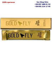 Голд флай женский возбудитель Spanish Gold Fly (1 шт. в упаковке, капли), возбуждающие капли для женщин Шпанская мушка