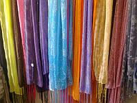 Шарфы с камушками в ассортименте расцветок
