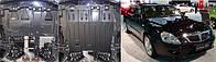 Защита картера двигателя Brilliance (Полигон - Фрунзе)