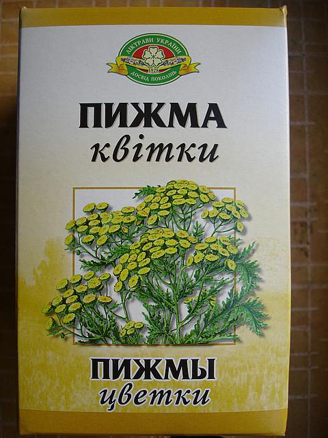 Пижма обыкновенная цвет, 75 гр.