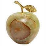 Яблоко из оникса (7,5х7,5х7,5 см)