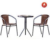 Комплект садовой мебели из ротанга NL-1311R