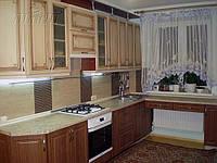 Кухня на заказ МДФ патина Киев