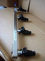 Рампа форсунок двигателя SQR477F 16-клап 1.5л ZAZ Forza / Chery A13. Впрыск. Рампа 477f-1112001ca Форза, фото 1