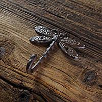 Крючок из чугуна Стрекоза 11х1см, фото 1