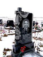 Памятник гранитный на могилу с крестом