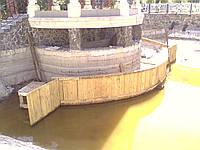 Укрепление берега с воды (050) 395-35-71