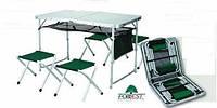 Видео обзор складного стола для кемпинга Forrest TA-21407+FS-21124