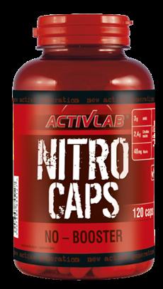 Донатор азота Activlab Nitro Caps 120 капс (дата 10/19), фото 2