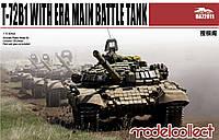 Модель танка для сборки T-72B1 with ERA 1/72